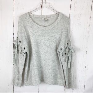 Forever 21 | Lace Up Sleeve Sweater
